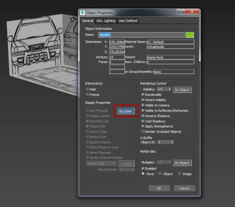 Manage Layer 3ds Max
